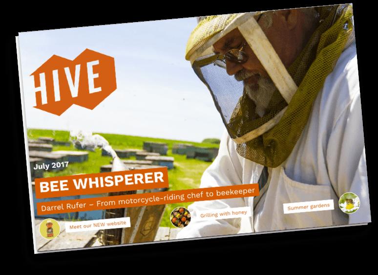 Hive magazine cover