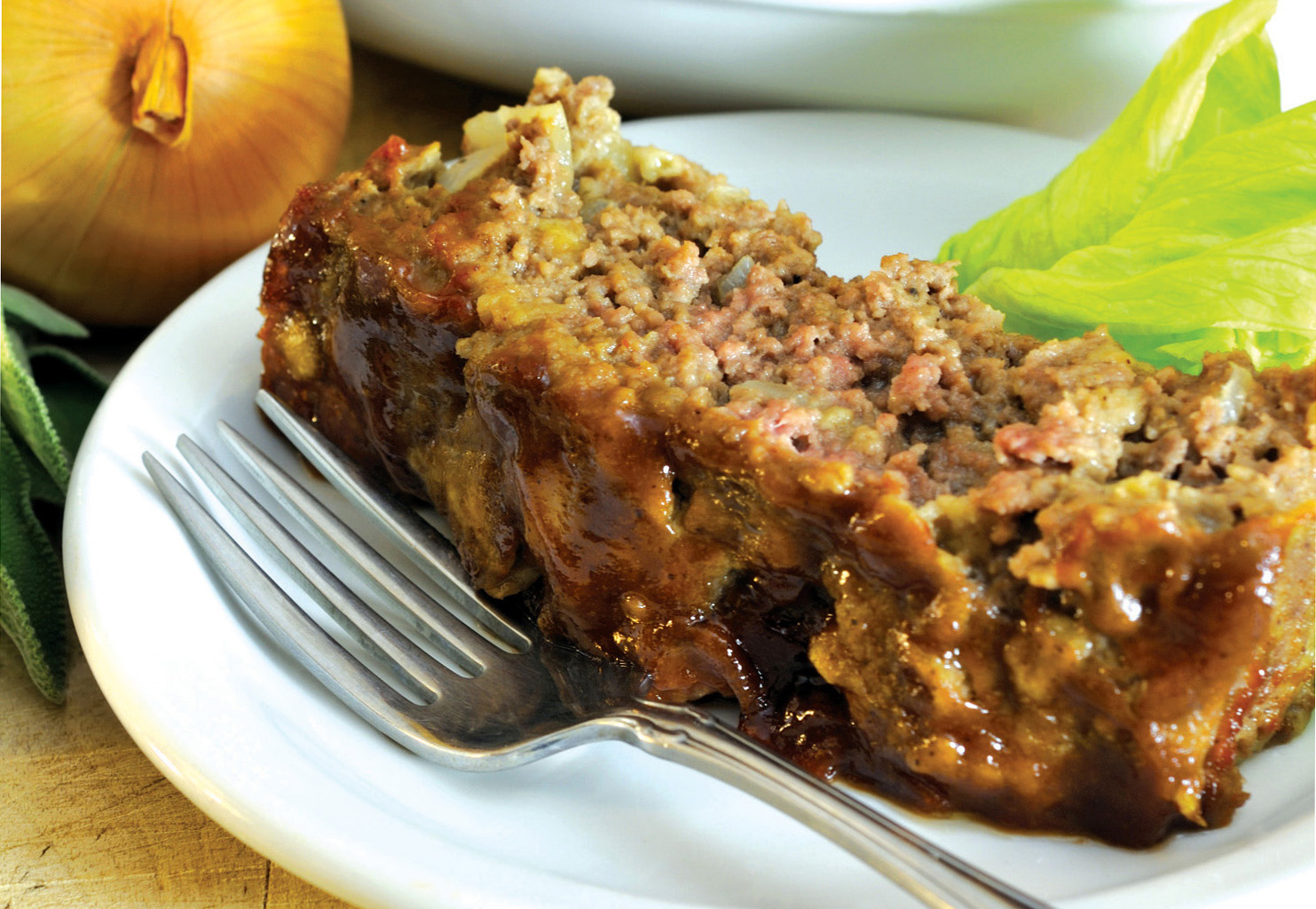 Hearty honey glazed meatloaf sioux honey association co op forumfinder Choice Image