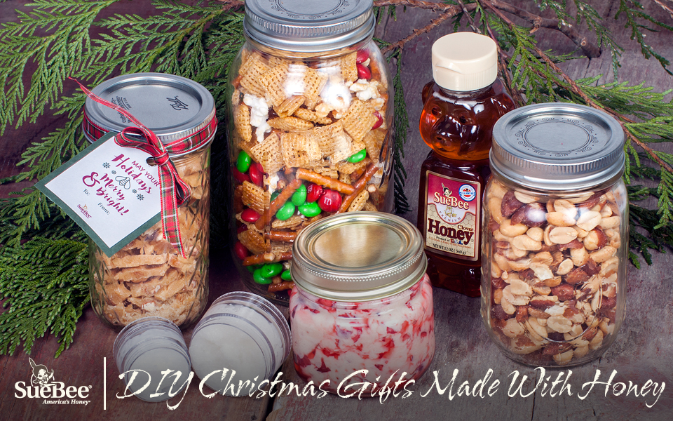 Whip Up Any Of These Easy And Affordable DIY Christmas Gifts Made With  Honey. Place Them In Cute Jars And Finish Them Off With Some Holiday Ribbon.