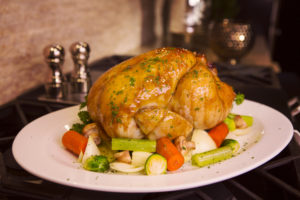 Honey and Parsley Roasted Chicken