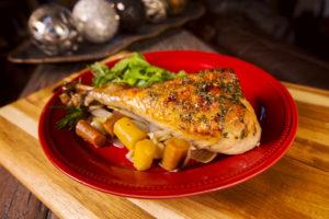 Braised Turkey Legs with Honeyed Herbs