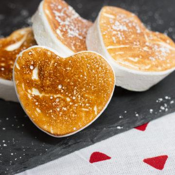 Heart-Shaped Honey Marshmallows